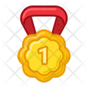 Gold Medal Prize Icon