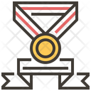 Medal Gold Badge Icon