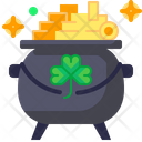 Gold Saint Patricks Day Cultures Icon