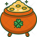 Gold Pot Pot Gold Icon