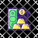 Gold Price Icon