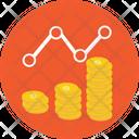 Gold Ratio Growth Icon