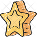 Gold Star Elements Icon
