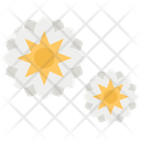 Golden Arabesque Decoration Beautification Icon