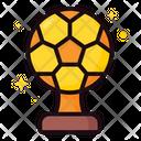 Golden Ball Icon