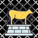 Golden Calf Icon