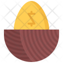 Golden Egg Gold Icon