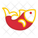 Golden Fish Food Icon