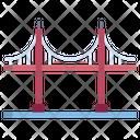 Golden Gate Bridge Gate Icon
