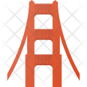 Golden Gate Architecture Icon
