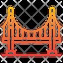 Golden Gate Bridge Golden Gate America Icon