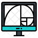 Golden Ratio Monitor Icon