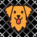 Golden Retriever Dog Puppy Icon