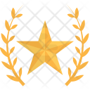 Gold Star Victory Icon