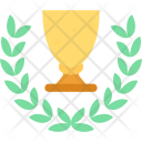 Golden Trophy Icon