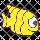 Goldfish Aquatic Animal Specie Icon