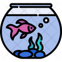 Goldfish Pet Bowl Icon
