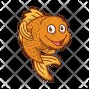 Goldfish Fish Animal Icon