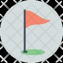 Golf Ground Checkpoint Icon
