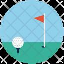 Golf Ground Stick Icon
