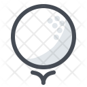 Golf Stick Ball Icon