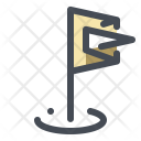 Golf Ground Stick Icon