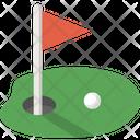 Golf Golfing Hobby Icon