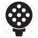 Golf Sport Ball Icon