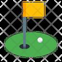 Ball Flag Golf Icon