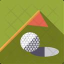 Golf Flag Green Icon