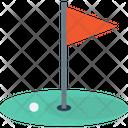 Golf Golf Flag Golf Course Icon
