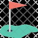 Golf Club Course Icon