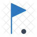 Golf Flag Game Icon