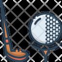 Golf Ball Golfers Icon