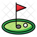 Golf Club Golf Flag Golf Icon