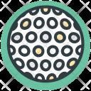 Golf Ball Gear Icon