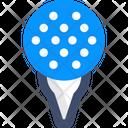 M Golf Golf Golf Ball Icon