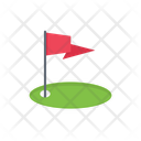 Golf Flag Sport Icon