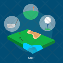 Golf Sport Awards Icon