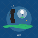 Golf Equipment Sport Icon