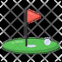 Golf Golf Arena Golf Ground Icon