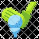 Golf Leisure Ball Icon
