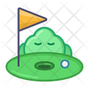 Golf Sport Game Icon