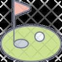 Golf Ball Game Icon