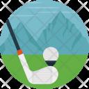 Golf Course Field Icon