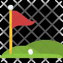 Golf Club Ground Icon