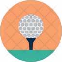 Golf Shot Ball Icon