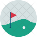 Golf Course Club Icon