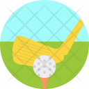 Golf Club Olympics Icon