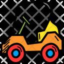 Golf Cart Car Icon